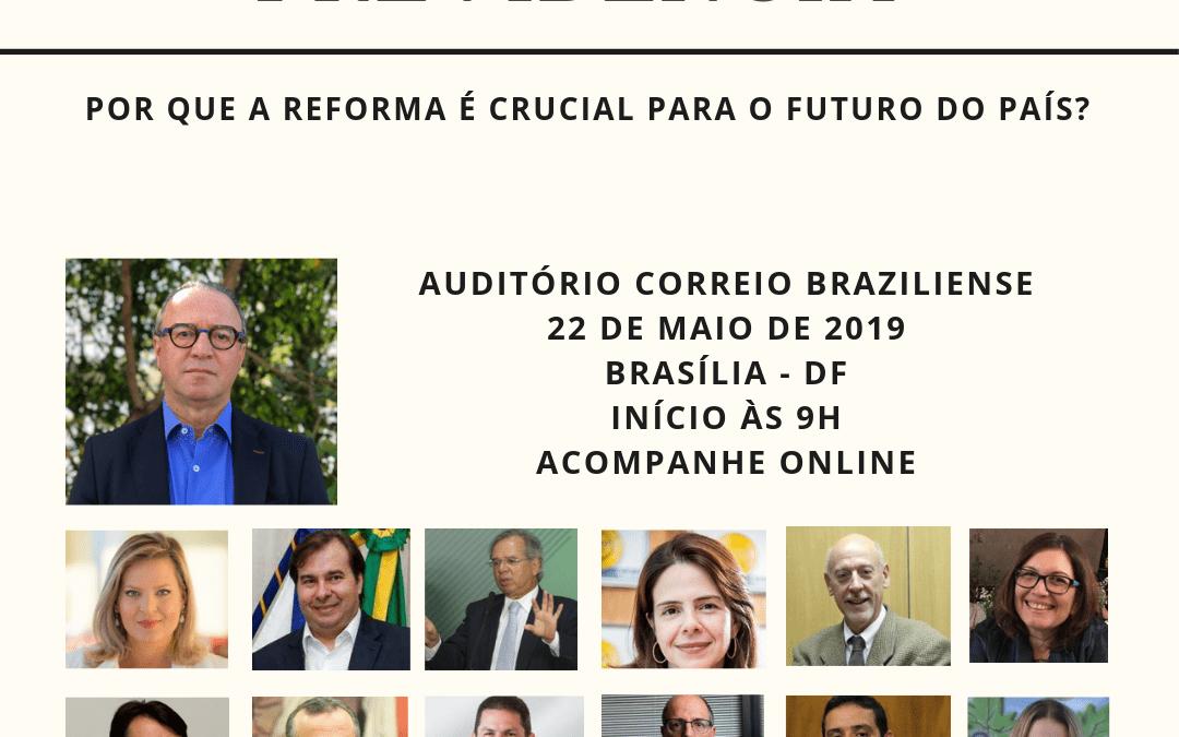 Renato Follador é confirmado como Painelista no Seminário promovido pelo Correio Braziliense e o Estado de Minas em Brasília.